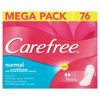 Carefree Cotton Dámské vložky 76ks