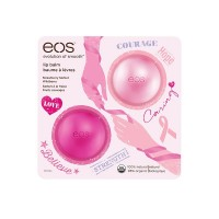 EOS Strawberry & Wildberry Balzám na rty 7g