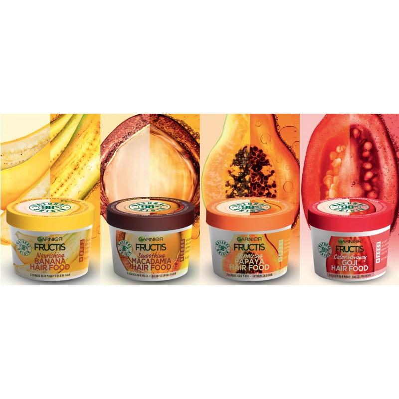 Garnier Fructis Papaya Hair Food Masque 390 ml 7a0c262e965