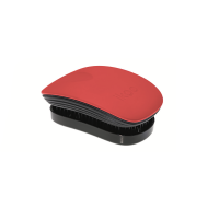 Ikoo Pocket Paradise Černo-červený kartáč na vlasy