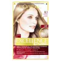 L'Oréal Paris Excellence Creme 8.1 Barva na vlasy