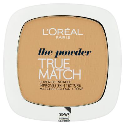 L'Oréal Paris True Match Golden Beige W3 9g