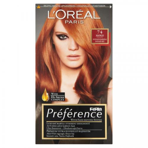 L'Oréal Paris Féria Préférence Mango 74