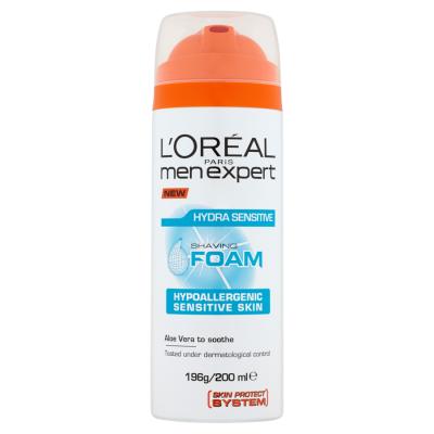 L'Oréal Paris Men Expert Hydra Sensitive 200ml Pěna na holení