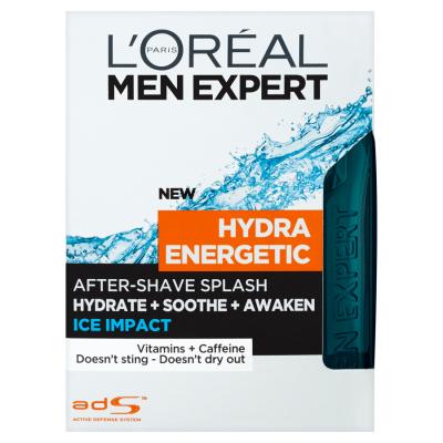 L'Oréal Paris Men Expert Hydra Energetic Ice Impact 100ml Voda po holení