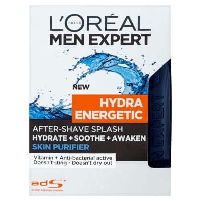 L'Oréal Paris Men Expert Hydra Energetic Skin Purifier 100ml Voda po holení