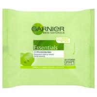 Garnier Skin Naturals Essentials Odličovací ubrousky 25ks