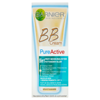 Garnier Skin Naturals Pure Active BB Cream 5v1 Light 50ml