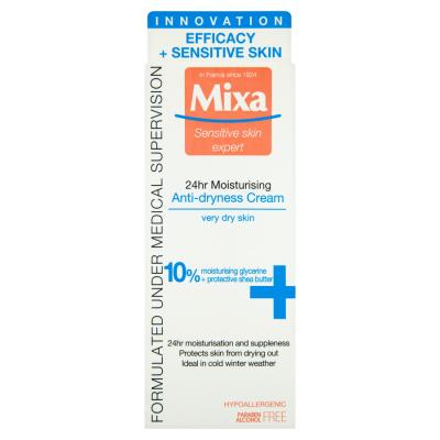 Mixa Sensitive Skin Expert Krém proti vysušení 50ml