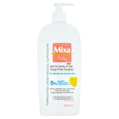 Mixa Baby Mycí gel na tělo a vlásky 400ml