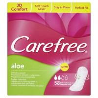 Carefree Aloe 58ks Dámské vložky