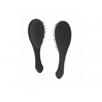 Air Motion Černý kartáč na vlasy