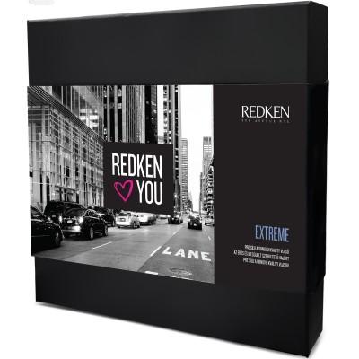 Redken Extreme šampon 300 ml + kondicioner 250 ml + One United 150 ml dárková sada